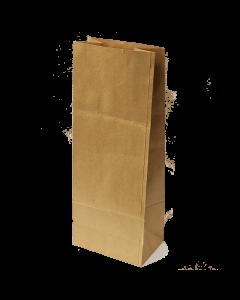 400 x 150 x 100mm Brown gusset Bag x 500