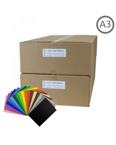 A3 Recycled Coloured Card 500Pk