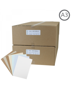 A3 Recycled Natural Card 500Pk