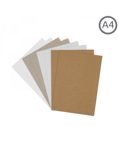 A4 Recycled Duo Board 10Pk