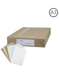 A3 Recycled Natural Card 100Pk