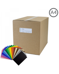 A4 Recycled Coloured Card 500Pk