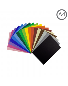 A4 Recycled Coloured Card 10Pk