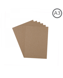 A3 Recycled Natural 130g Paper 10Pk