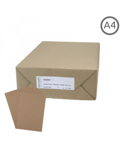 A4 Recycled Natural 130g Paper 500Pk