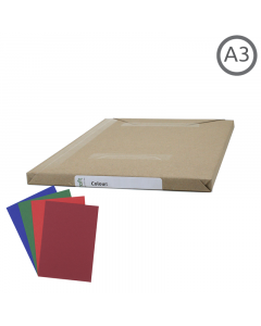 A3 Recycled Coloured Paper 100Pk