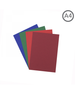 A4 Recycled Coloured Paper 10Pk