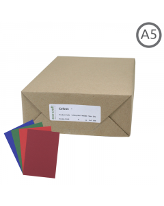 A5 Recycled Coloured Paper 1000Pk