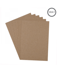 SRA1 Recycled 280g Hairy Manilla Card 125Pk