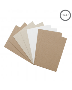 SRA3 Recycled Natural Thin Card 500Pk
