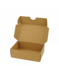 74x51x25mm Small Soap Box 10Pk-RibbedBrown