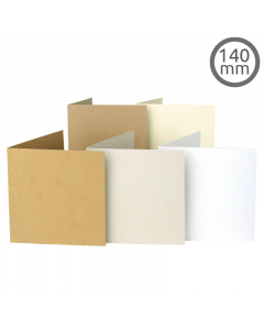 T11 Card Natural 100 Pk (140x140mm)