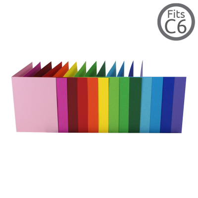 A6 / C6 Card Colours 100 Pk (104x147mm)