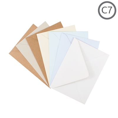 C7 Recycled Envelope Natural 100Pk