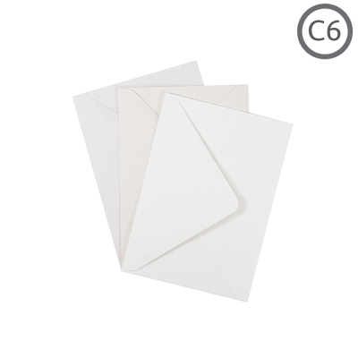 C6 Recycled Envelope Superior 10Pk