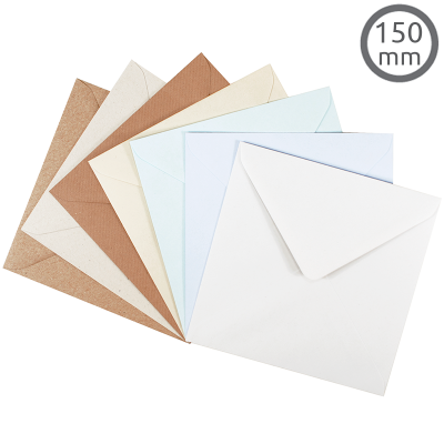 EV10 Recycled Envelope Natural 10Pk