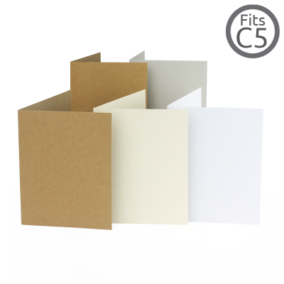 A5 / C5 Card Natural 100 Pk (148x210mm)