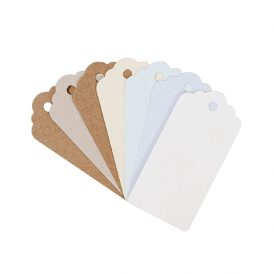 Gift Tags (Large) Natural 20Pk