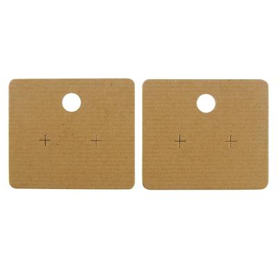 Earring Hanger (67mm) 20Pk. - Ribbed Brown
