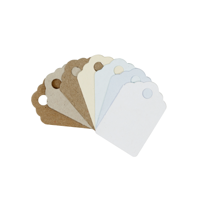 Gift Tags (Small) Natural 60Pk