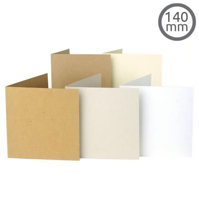 T11 Card Natural 10 Pk (140x140mm)
